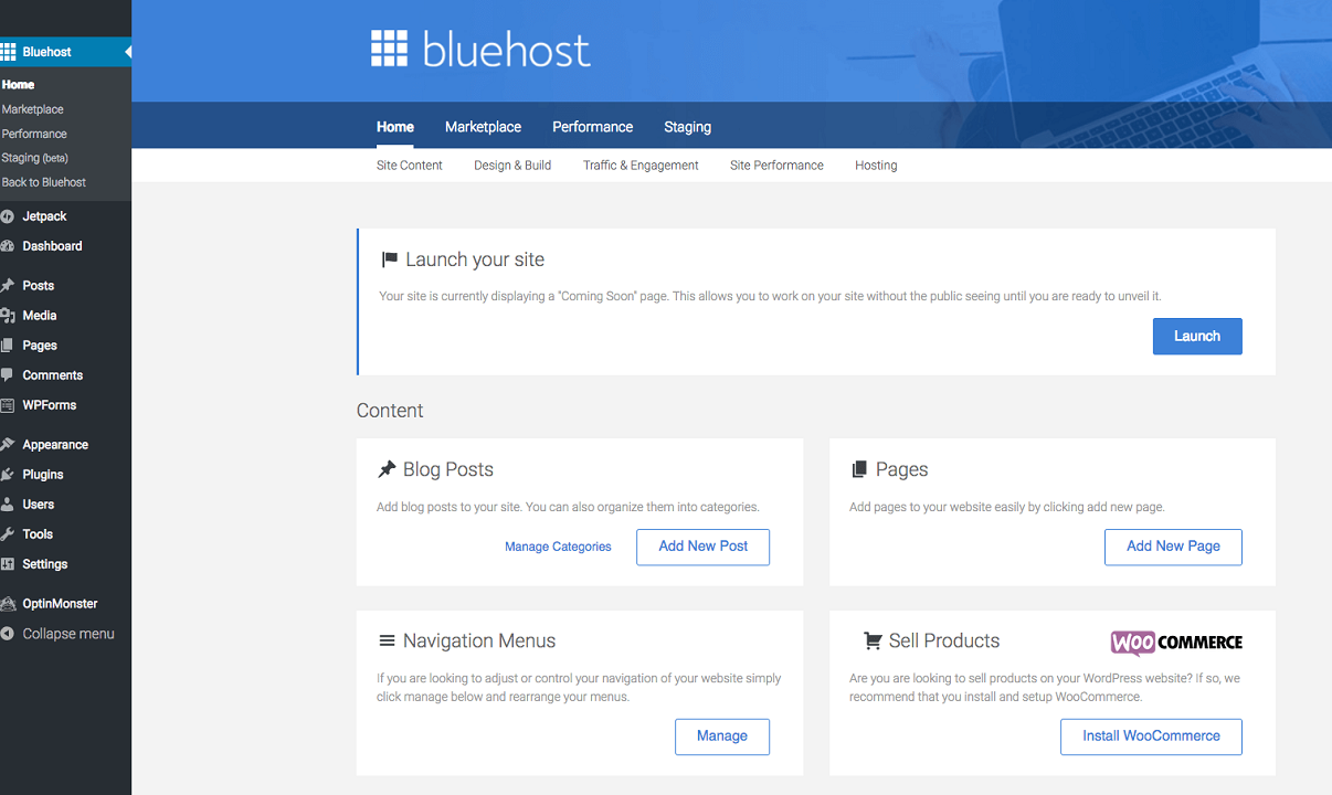 BlueHost Review : The Best Hosting for WordPress Sites