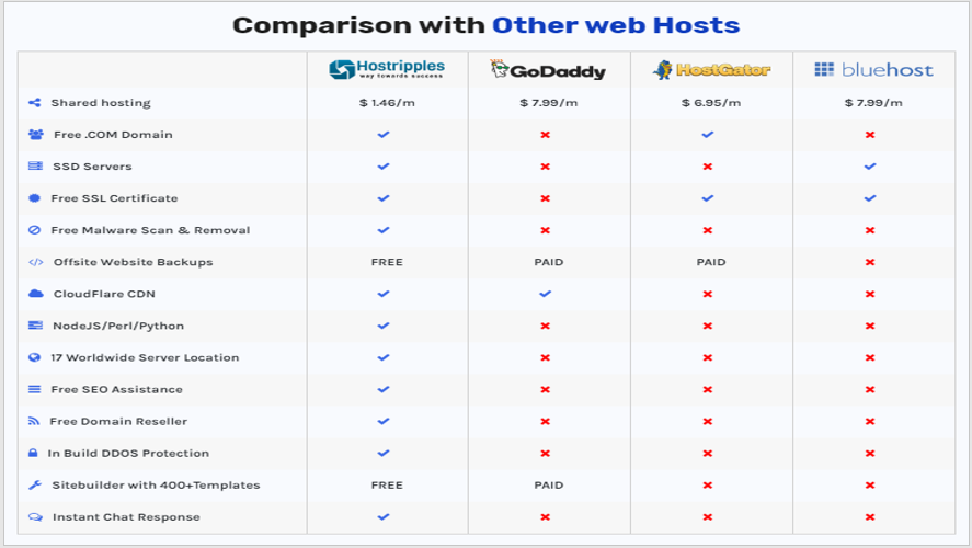 Why Hostripples is the best web hosting